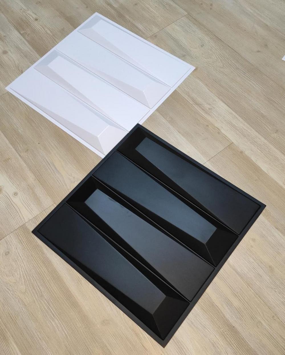 Revestimento 3D Autoadesivo Revestimento 3D Autoadesivo ESCALENO - Placa de 50x50cm