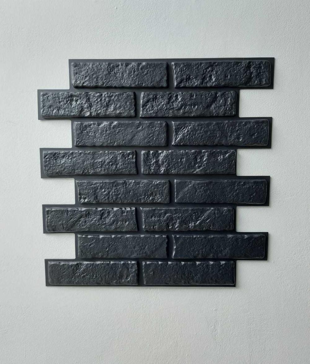Tijolinho Rústico DARK - 43x50cm